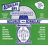 Bedding compound, Acraglas Epoxy Gel, by Brownell's