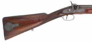 Antique English Sporting Rifle,
