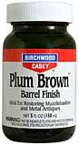 Plum Brown Barrel Finish,