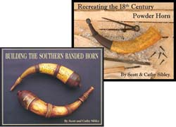 Building the Southern Banded Horn & Recreating the 18th Century Powder Horn Book Set