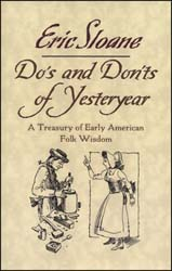 Do's and Don'ts of Yesteryear,