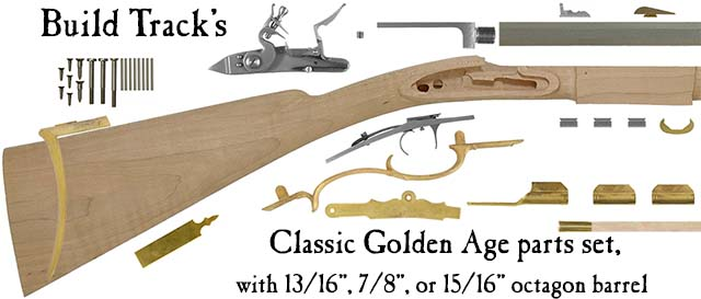 Build Track's Classic Golden Age longrifle,