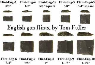 Tom Fuller's English Gun Flints are the best in the world!