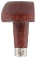 "Graver handle, half-head, mushroom shaped 1-1/2"" x 1-1/4"", pressure fit"