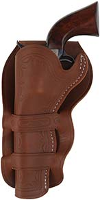 Cheyenne Double Loop Holster, left hand,