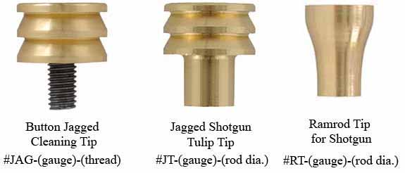Jags, jagged tips & tulip tips, for shotguns