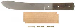"6"" Green River Butcher Knife Kit with Maple Handle"