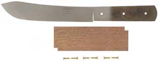 "6"" Green River Butcher Knife Kit with Walnut Handle"