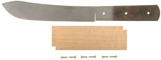 "8"" Green River Butcher Knife Kit with Maple Handle"