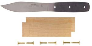 "5"" Green River Camp Blade Knife Kit with Maple Handle"