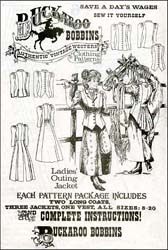 Pattern for Ladies Outing Jacket,