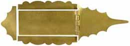 Vincent Rifle Capbox Kit, brass,