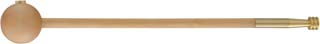 Pistol loading rod and short starter with .50 caliber cleaning jag, 