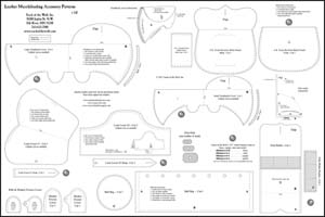 Muzzleloading Leather Accessory Pattern