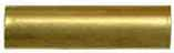 "ramrod pipe, brass, plain for rib, round, for 3/8"" rod"