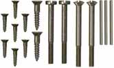 Screws & pins,