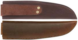 Sheath for Roach Belly Trade Knife, 1750 - 1780 era