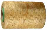 Artificial sinew, thin waxed flat lacing, 1/2 lb spool