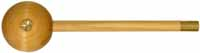 "Short Starter, patch & ball starter, with 3/8"" hickory rod for .40 to .45 caliber."