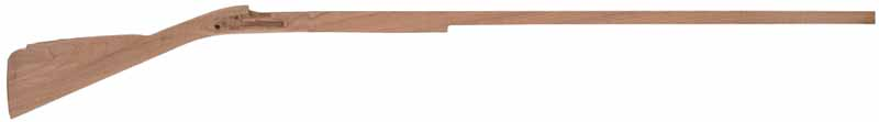 Stock, English Flint Fowler, pre-shaped, 