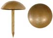 Tacks, antiqued plated brass,