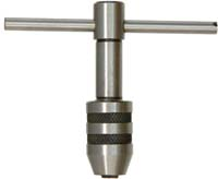 "Tap handle, accepts 1/4"" to 1/2"" diameter taps"